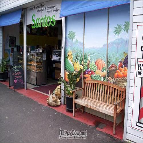 """Photo of Santos Health Foods & Cafe  by <a href=""""/members/profile/vegan_simon"""">vegan_simon</a> <br/> May 14, 2009  - <a href='/contact/abuse/image/17541/1923'>Report</a>"""
