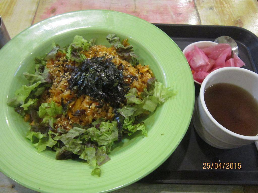 "Photo of CLOSED: Loving Hut - Yonsei University  by <a href=""/members/profile/Trambau"">Trambau</a> <br/>Stirfried kimchi rice <br/> January 13, 2018  - <a href='/contact/abuse/image/17566/345976'>Report</a>"