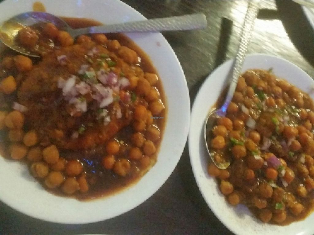 "Photo of Royal Sweets Cafe  by <a href=""/members/profile/Keelynm"" class=""title__title"">Keelynm</a> <br/>Vegan Entree: Aloo Tiki and Raj Kachori <br/> February 2, 2016  - <a href='/contact/abuse/image/17570/399195'>Report</a>"
