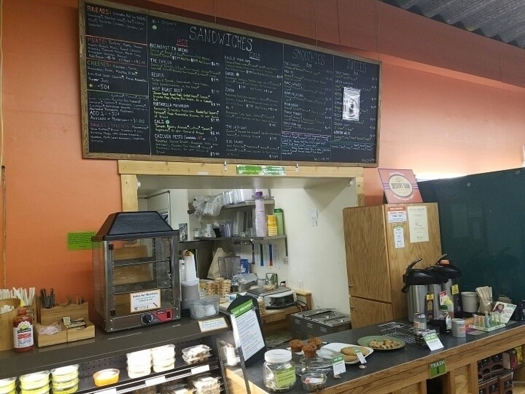 """Photo of Durango Natural Foods  by <a href=""""/members/profile/kenvegan"""">kenvegan</a> <br/>the Cafe <br/> August 16, 2016  - <a href='/contact/abuse/image/1768/169245'>Report</a>"""
