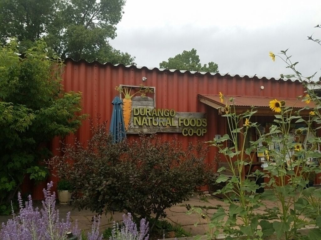 """Photo of Durango Natural Foods  by <a href=""""/members/profile/kenvegan"""">kenvegan</a> <br/>the sign <br/> August 16, 2016  - <a href='/contact/abuse/image/1768/169251'>Report</a>"""