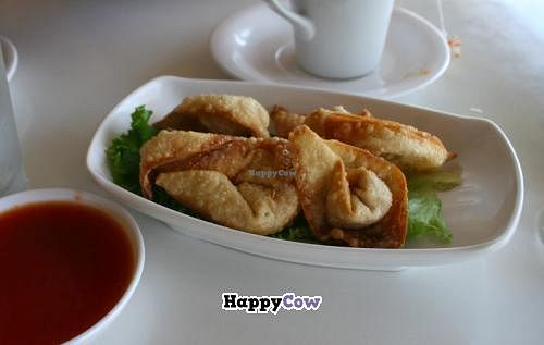 """Photo of Loving Hut - North Park Uptown  by <a href=""""/members/profile/Raesock"""">Raesock</a> <br/>Crispy wontons <br/> September 5, 2013  - <a href='/contact/abuse/image/17706/54474'>Report</a>"""