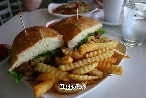 """Photo of Loving Hut - North Park Uptown  by <a href=""""/members/profile/Raesock"""">Raesock</a> <br/>Barbecue sandwich <br/> September 5, 2013  - <a href='/contact/abuse/image/17706/54475'>Report</a>"""