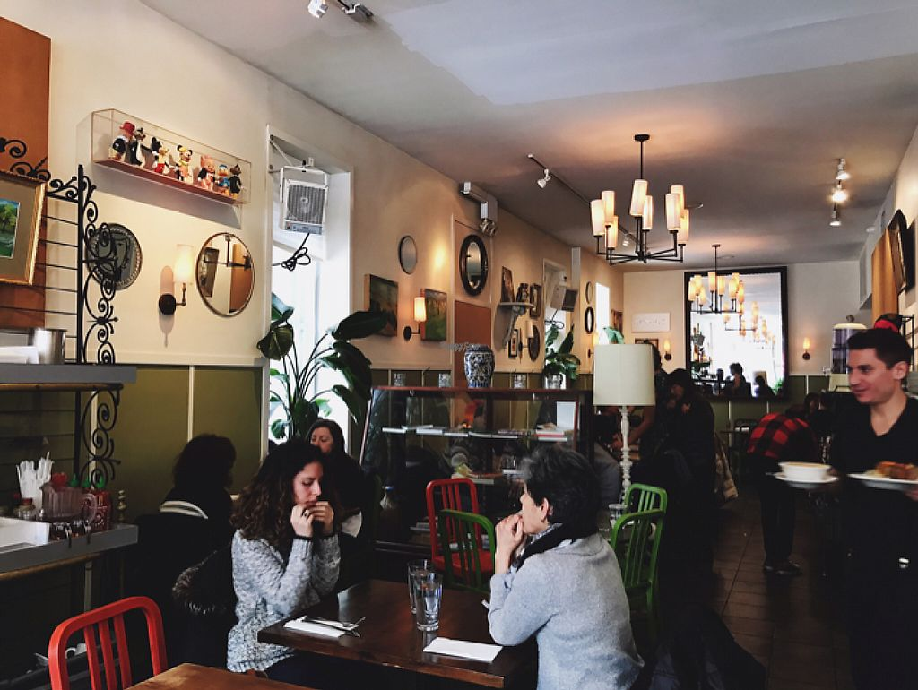 """Photo of Peacefood Cafe - Uptown  by <a href=""""/members/profile/Lenaseltzer"""">Lenaseltzer</a> <br/>inside  <br/> March 16, 2017  - <a href='/contact/abuse/image/17713/236973'>Report</a>"""