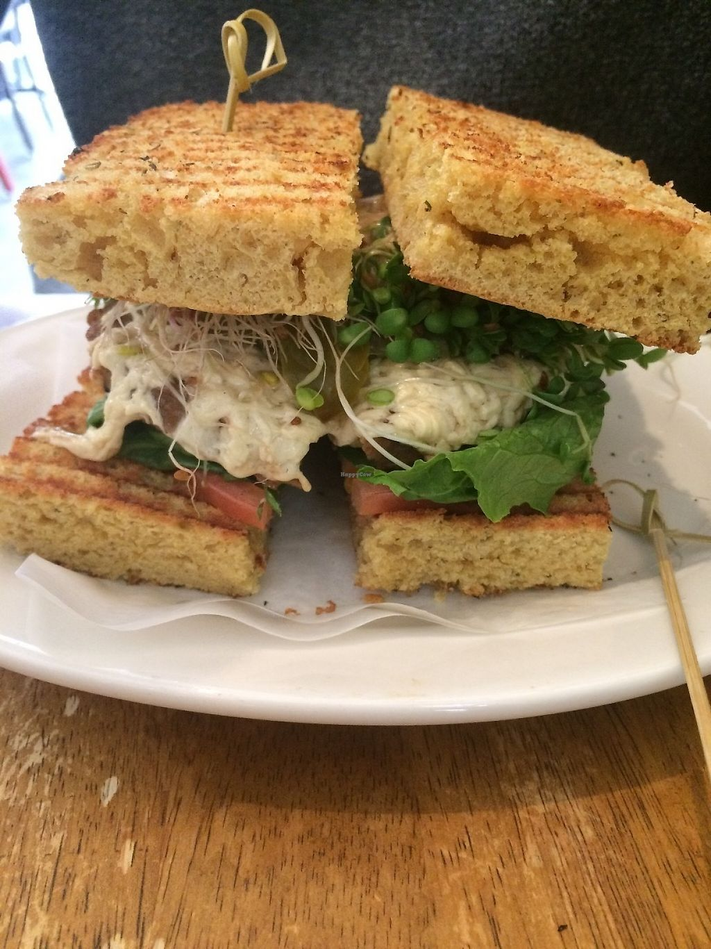 """Photo of Peacefood Cafe - Uptown  by <a href=""""/members/profile/MyGreenTongue"""">MyGreenTongue</a> <br/>salad <br/> May 24, 2017  - <a href='/contact/abuse/image/17713/262173'>Report</a>"""