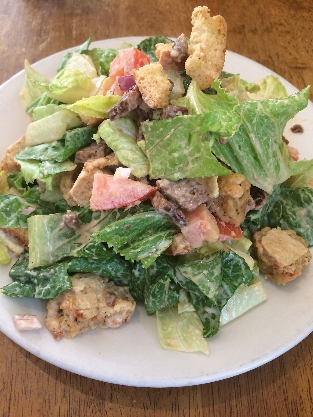 """Photo of Peacefood Cafe - Uptown  by <a href=""""/members/profile/MyGreenTongue"""">MyGreenTongue</a> <br/>caesar salad <br/> May 24, 2017  - <a href='/contact/abuse/image/17713/262174'>Report</a>"""