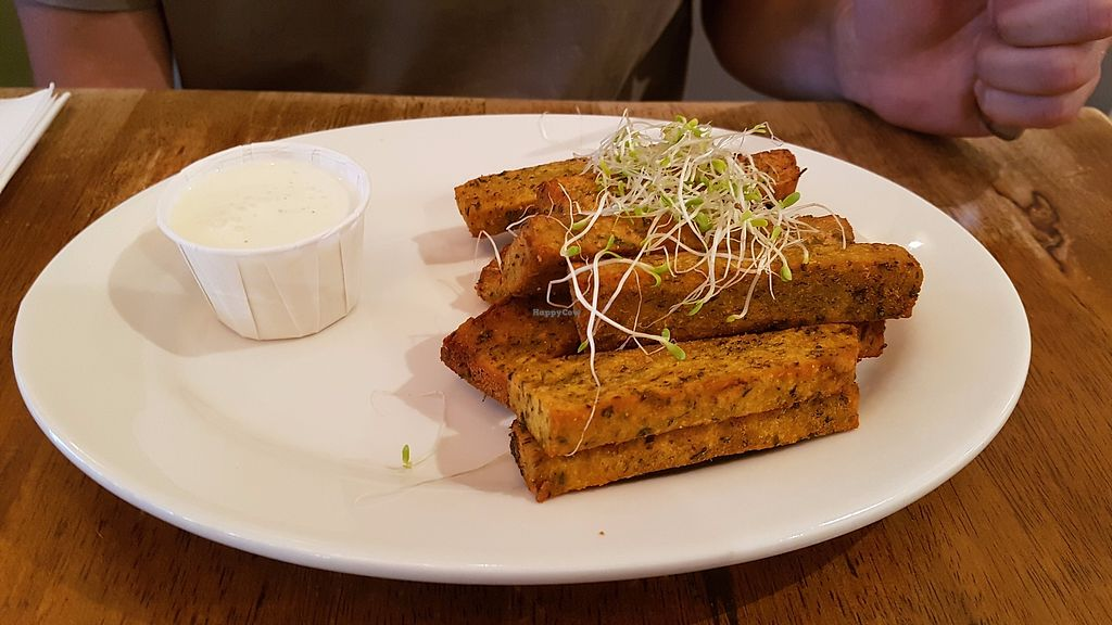 """Photo of Peacefood Cafe - Uptown  by <a href=""""/members/profile/JonJon"""">JonJon</a> <br/>Bean fries <br/> July 28, 2017  - <a href='/contact/abuse/image/17713/285818'>Report</a>"""