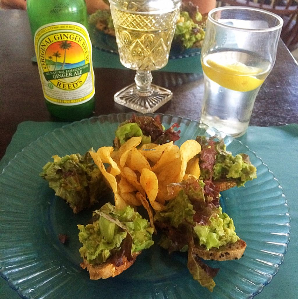 """Photo of Bloodroot  by <a href=""""/members/profile/thePLURvegan"""">thePLURvegan</a> <br/>Avocado on homemade rye bread <br/> July 14, 2016  - <a href='/contact/abuse/image/1773/159843'>Report</a>"""