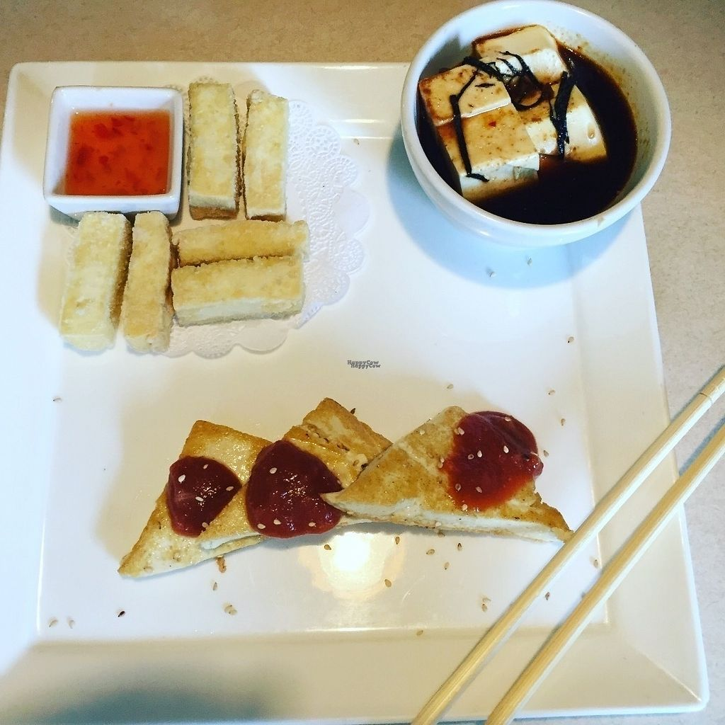 """Photo of Tofu Hut  by <a href=""""/members/profile/sarahburnsy"""">sarahburnsy</a> <br/>Tofu Platter <br/> August 30, 2016  - <a href='/contact/abuse/image/17744/172486'>Report</a>"""