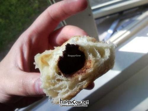 "Photo of CLOSED: Karmavore  by <a href=""/members/profile/Posi%20Britt"">Posi Britt</a> <br/>Chocolate filled croissant <br/> June 24, 2012  - <a href='/contact/abuse/image/17749/33660'>Report</a>"