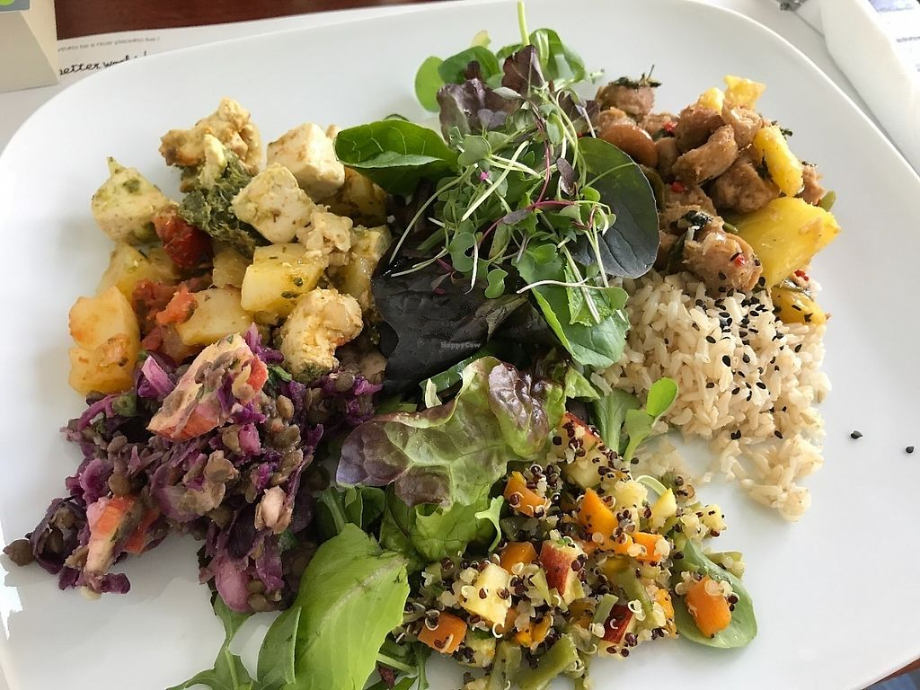 """Photo of Miss Saigon  by <a href=""""/members/profile/zubora"""">zubora</a> <br/>Two dish tasting menu with fresh salad <br/> June 4, 2017  - <a href='/contact/abuse/image/17785/265728'>Report</a>"""