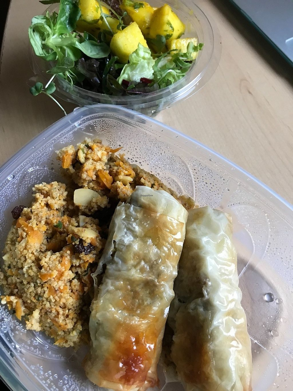 """Photo of Miss Saigon  by <a href=""""/members/profile/zubora"""">zubora</a> <br/>My takeaway dinner - complete meal with salad. Very tasty! <br/> June 4, 2017  - <a href='/contact/abuse/image/17785/265730'>Report</a>"""