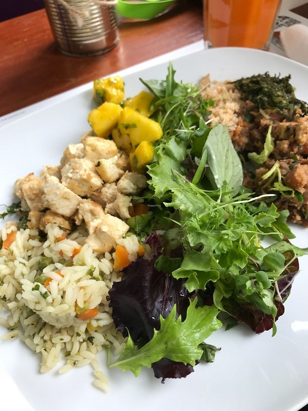 """Photo of Miss Saigon  by <a href=""""/members/profile/zubora"""">zubora</a> <br/>Two dish tasting dish, complete with fresh salad <br/> June 4, 2017  - <a href='/contact/abuse/image/17785/265731'>Report</a>"""