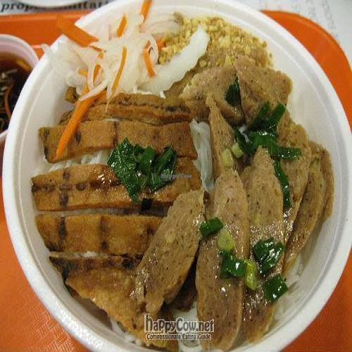 """Photo of CLOSED: Nickie's Cafe  by <a href=""""/members/profile/cvxmelody"""">cvxmelody</a> <br/>Mock meat noodles <br/> December 23, 2009  - <a href='/contact/abuse/image/17787/3188'>Report</a>"""
