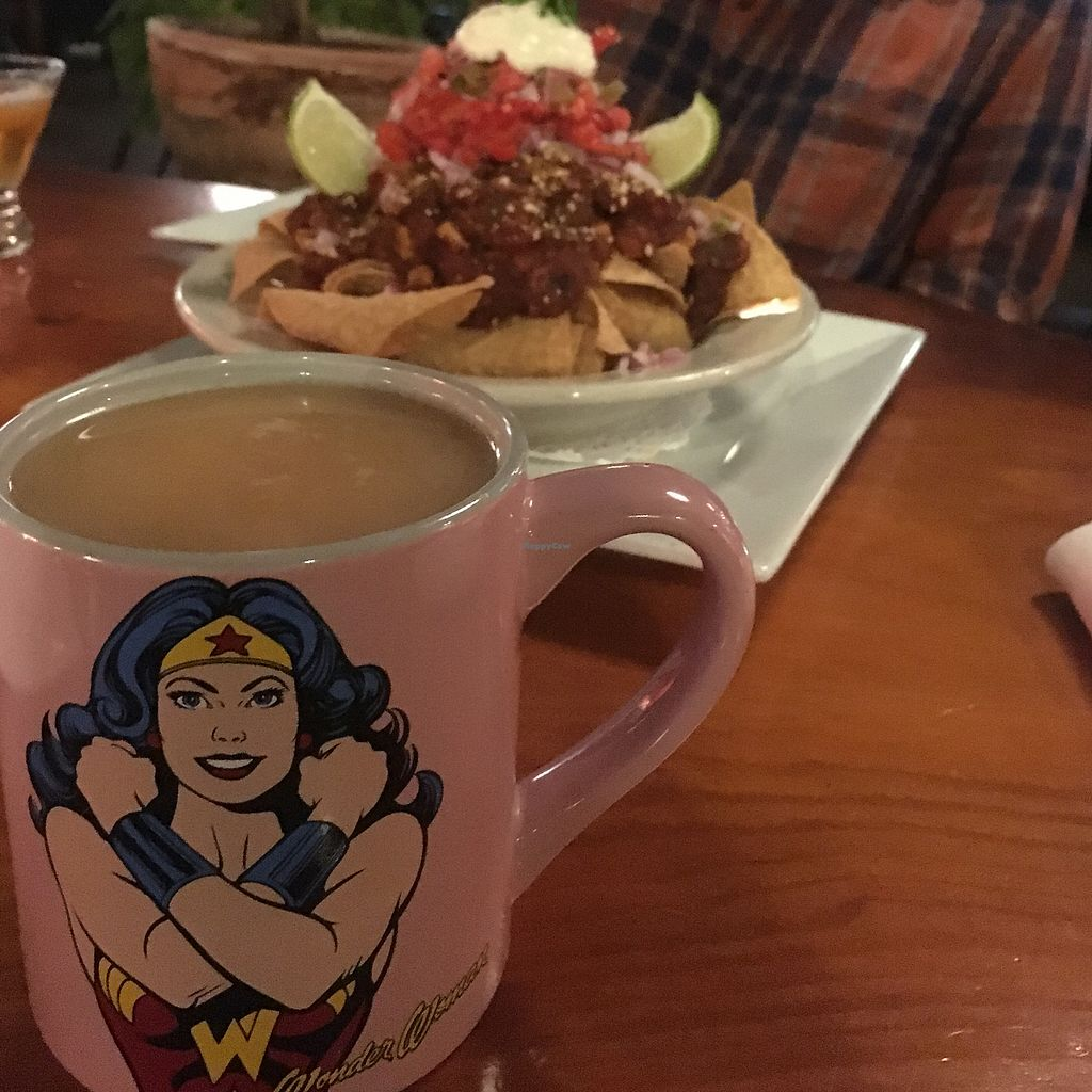 """Photo of ION - It's Only Natural Restaurant  by <a href=""""/members/profile/AmandaWycoff"""">AmandaWycoff</a> <br/>Nachos and chai tea both yummy  <br/> September 23, 2017  - <a href='/contact/abuse/image/1780/307501'>Report</a>"""