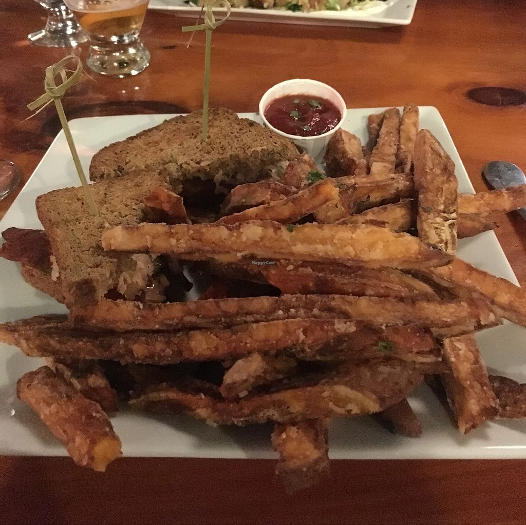 """Photo of ION - It's Only Natural Restaurant  by <a href=""""/members/profile/AmandaWycoff"""">AmandaWycoff</a> <br/>Reuben Sandwich, nothing special honestly.  <br/> September 23, 2017  - <a href='/contact/abuse/image/1780/307503'>Report</a>"""