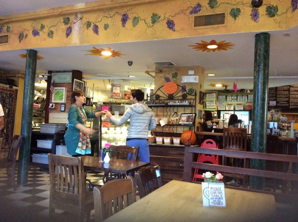 """Photo of Claire's Corner Copia  by <a href=""""/members/profile/vegan%20jeanne"""">vegan jeanne</a> <br/>Claire's Cornercopia in New Haven, CT <br/> November 8, 2015  - <a href='/contact/abuse/image/1781/124268'>Report</a>"""