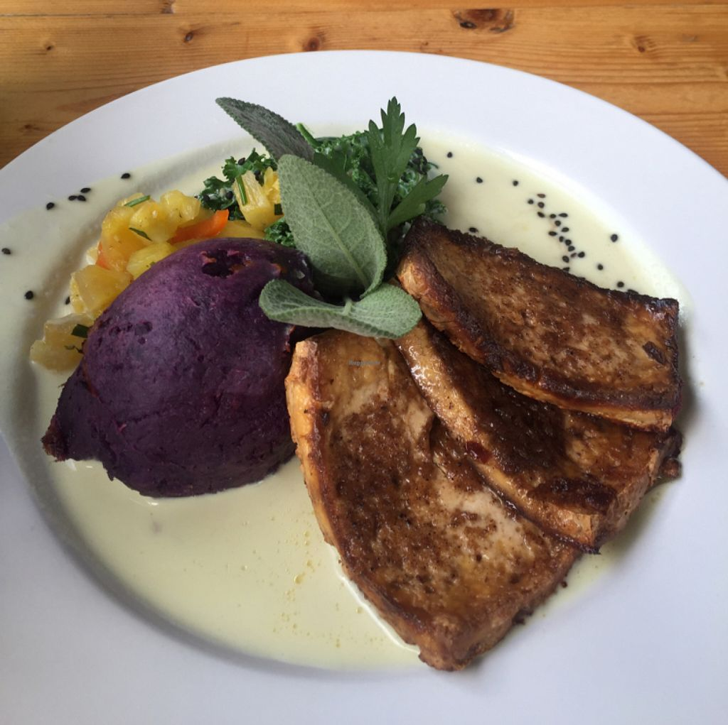 "Photo of Eat Healthy Kauai  by <a href=""/members/profile/merimac"">merimac</a> <br/>jerk tofu <br/> June 18, 2016  - <a href='/contact/abuse/image/17833/154536'>Report</a>"