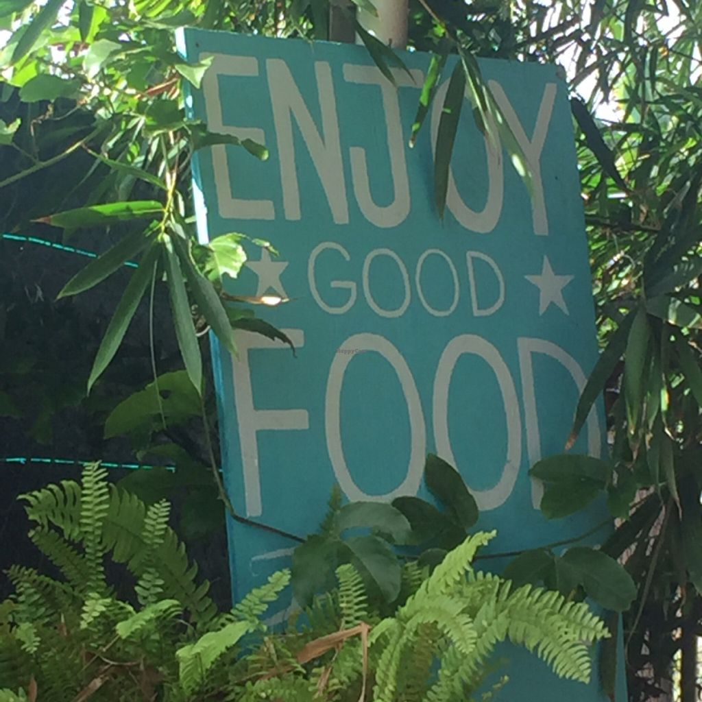 "Photo of Eat Healthy Kauai  by <a href=""/members/profile/merimac"">merimac</a> <br/>patio sign <br/> June 18, 2016  - <a href='/contact/abuse/image/17833/154540'>Report</a>"
