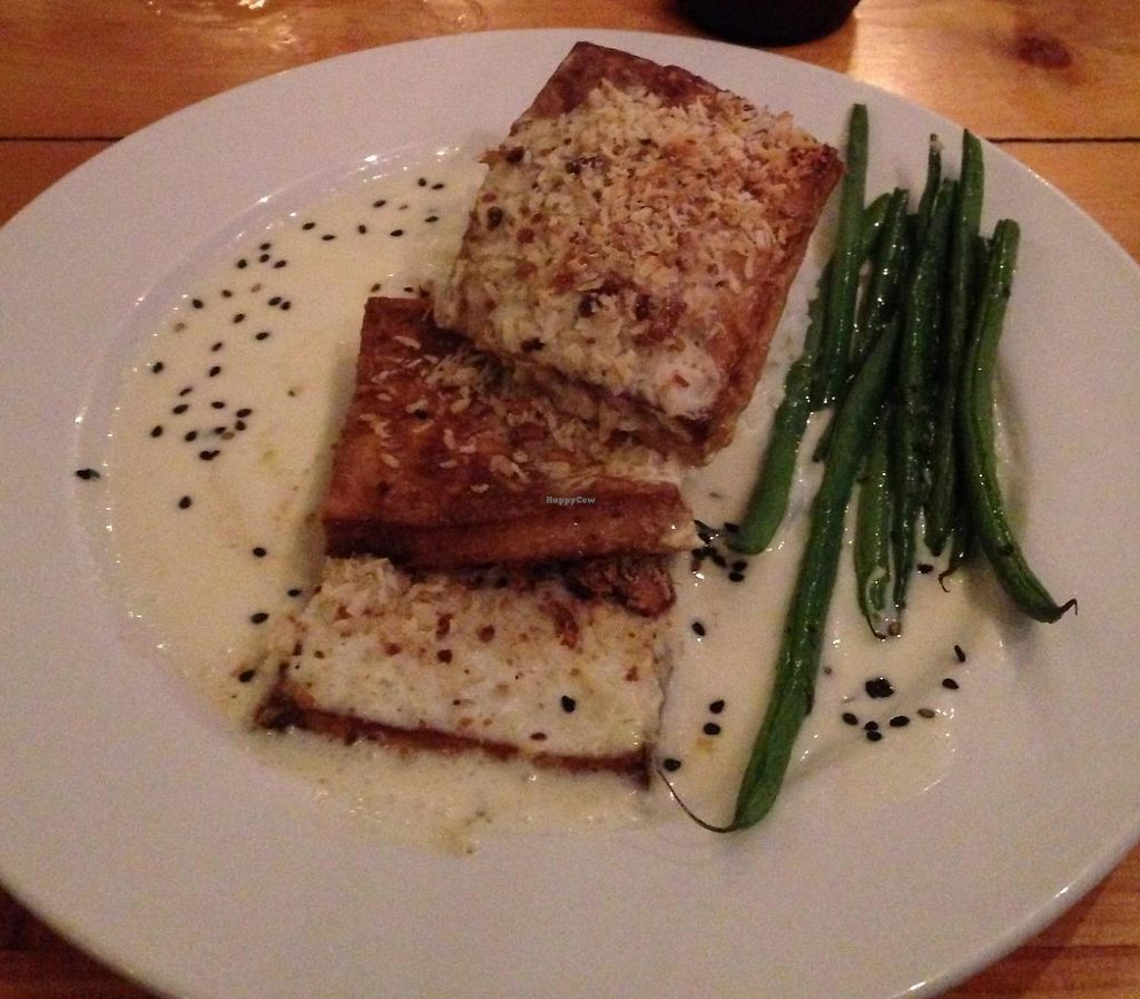 "Photo of Eat Healthy Kauai  by <a href=""/members/profile/KellyMeredith"">KellyMeredith</a> <br/>Coconut Macnut Tofu w/Green Beans <br/> July 11, 2014  - <a href='/contact/abuse/image/17833/199451'>Report</a>"