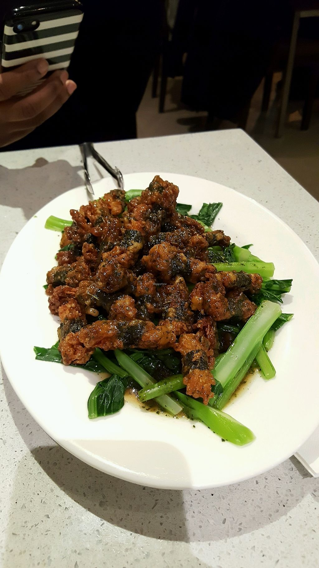 """Photo of King's Cafe  by <a href=""""/members/profile/Brit87"""">Brit87</a> <br/>enoki mushroom balls <br/> February 18, 2018  - <a href='/contact/abuse/image/17836/360660'>Report</a>"""