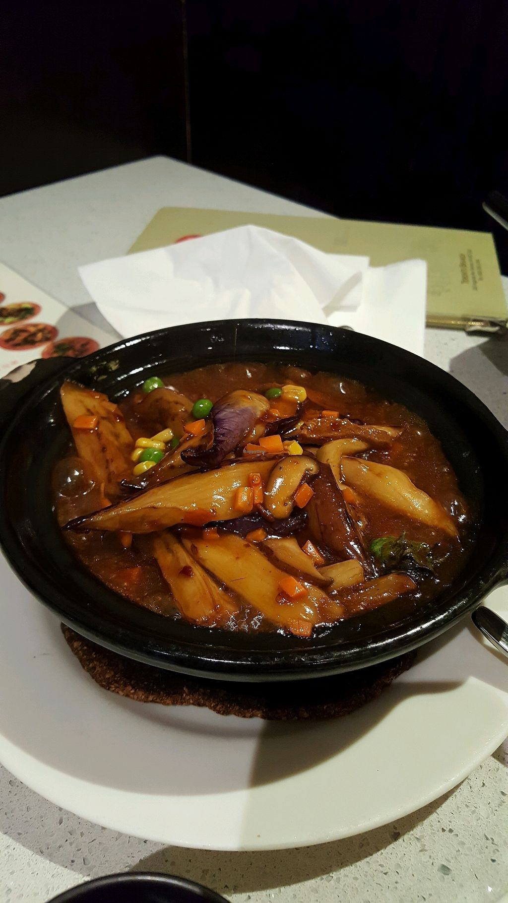 """Photo of King's Cafe  by <a href=""""/members/profile/Brit87"""">Brit87</a> <br/>spicy eggplant <br/> February 18, 2018  - <a href='/contact/abuse/image/17836/360661'>Report</a>"""