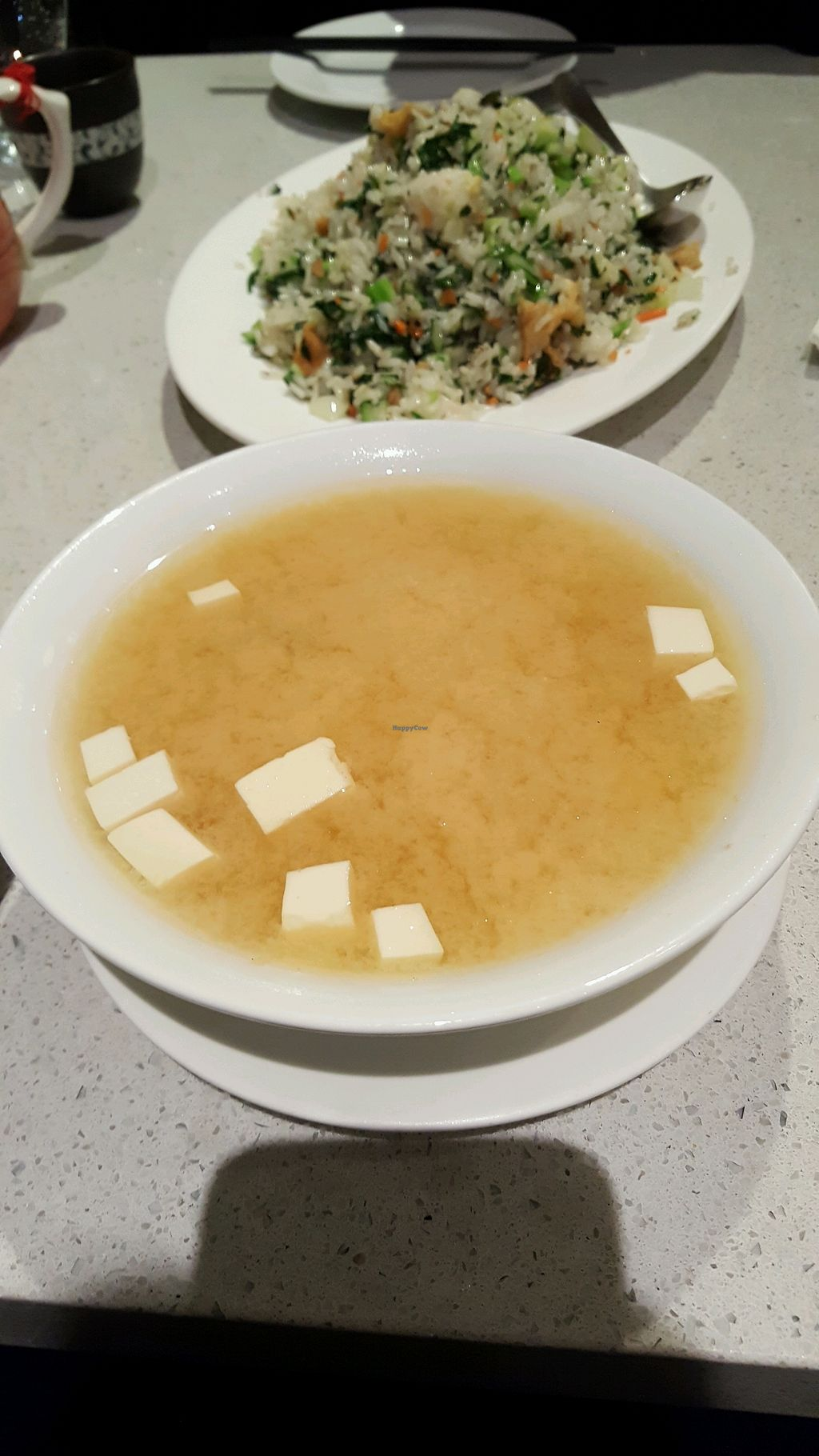"""Photo of King's Cafe  by <a href=""""/members/profile/Brit87"""">Brit87</a> <br/>miso soup and fried rice <br/> February 18, 2018  - <a href='/contact/abuse/image/17836/360665'>Report</a>"""