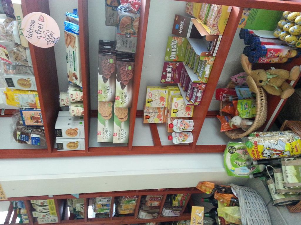 """Photo of Distel Bioladen  by <a href=""""/members/profile/parlau"""">parlau</a> <br/>Some of Distel's organic products  <br/> January 17, 2014  - <a href='/contact/abuse/image/17851/62650'>Report</a>"""