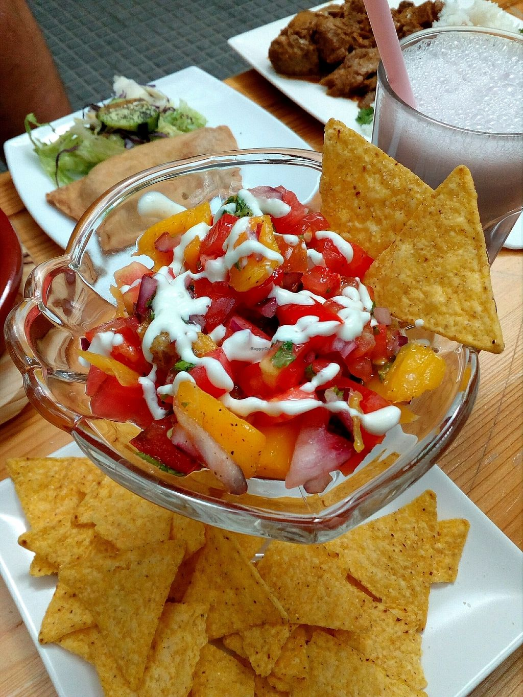 "Photo of Veganitessen  by <a href=""/members/profile/wyrd"">wyrd</a> <br/>cebiche de mango <br/> September 30, 2017  - <a href='/contact/abuse/image/17923/310047'>Report</a>"