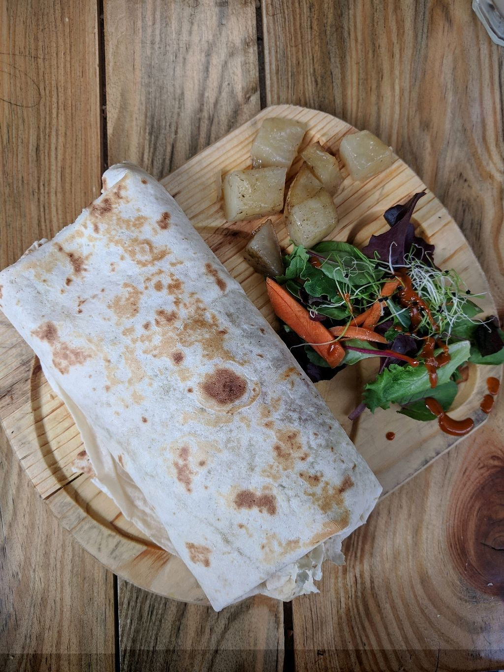 "Photo of Veganitessen  by <a href=""/members/profile/swissglobetrotter"">swissglobetrotter</a> <br/>burrito <br/> December 29, 2017  - <a href='/contact/abuse/image/17923/340478'>Report</a>"