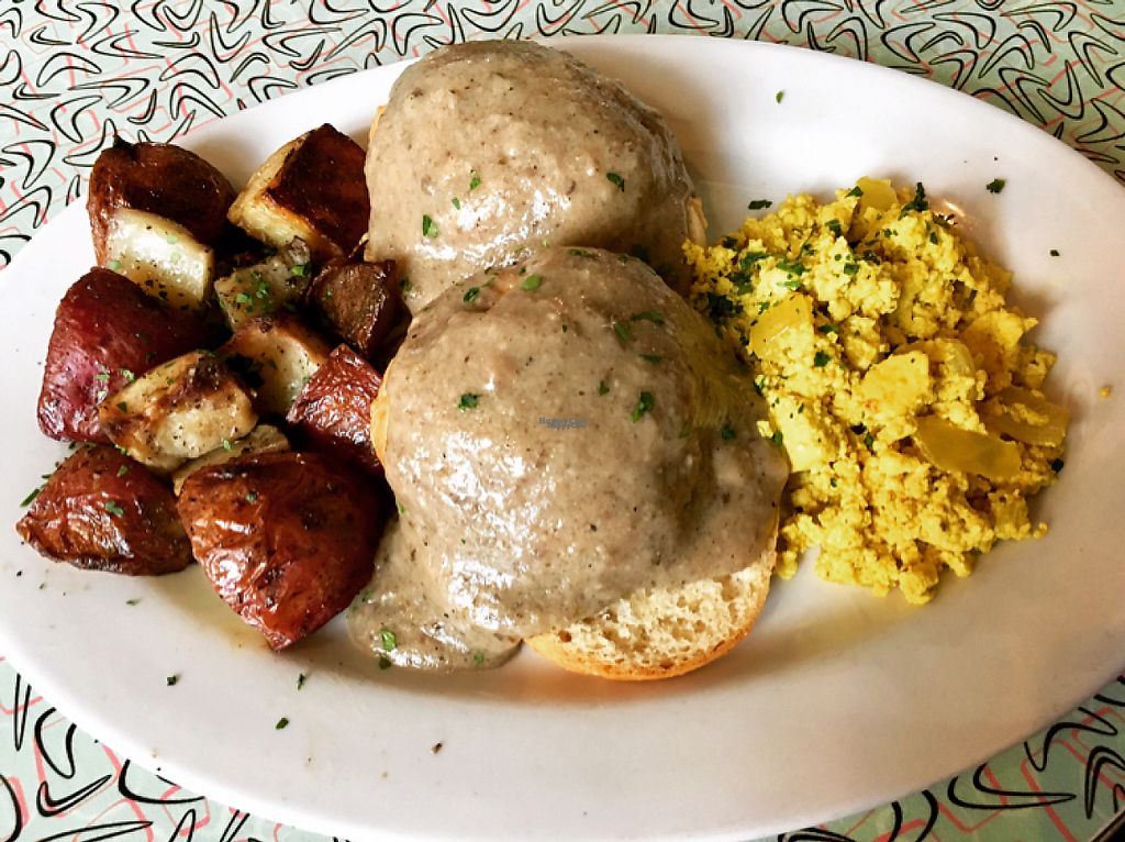"""Photo of Sticky Fingers Bakery  by <a href=""""/members/profile/clovely.vegan"""">clovely.vegan</a> <br/>Biscuits & Gravy.  <br/> January 23, 2017  - <a href='/contact/abuse/image/1792/215542'>Report</a>"""