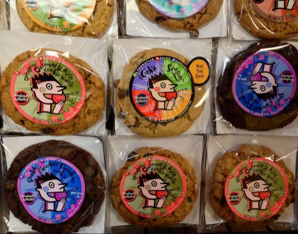 """Photo of Smoothie King  by <a href=""""/members/profile/happycowgirl"""">happycowgirl</a> <br/>vegan cookies from Alternative Baking Company <br/> May 15, 2014  - <a href='/contact/abuse/image/17978/70039'>Report</a>"""