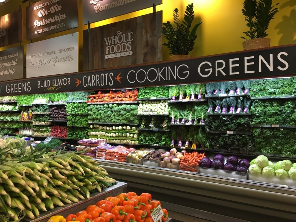 """Photo of Whole Foods Market - Tenley Town Circle  by <a href=""""/members/profile/cookiem"""">cookiem</a> <br/>Pretty produce <br/> June 21, 2016  - <a href='/contact/abuse/image/1797/155348'>Report</a>"""