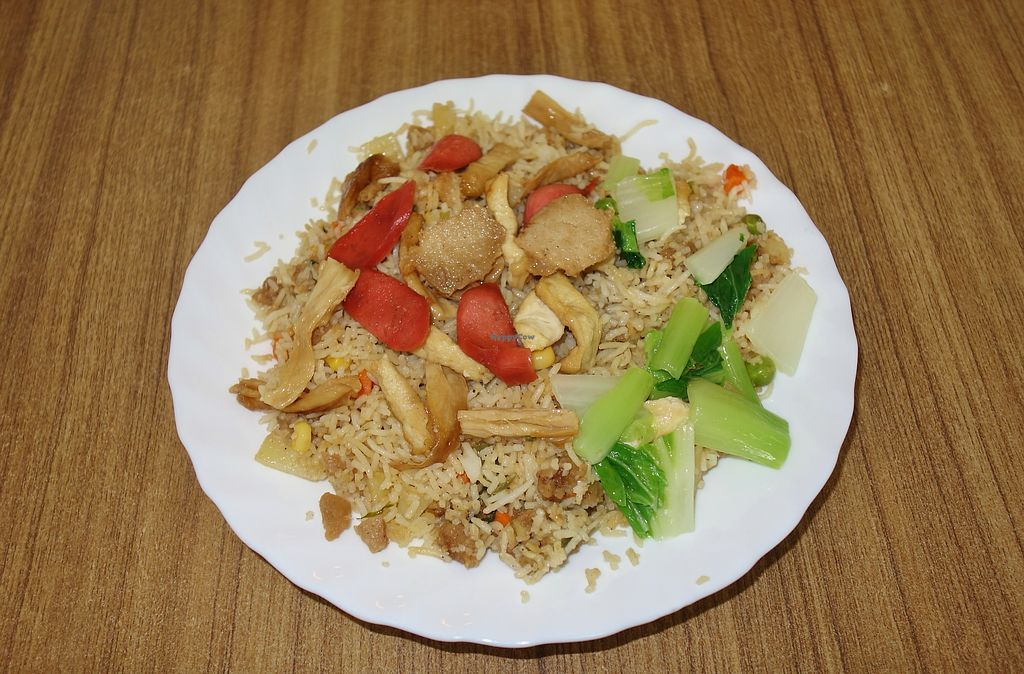"""Photo of Huai De Vegetarian Snack  by <a href=""""/members/profile/Goosi"""">Goosi</a> <br/>Fried rice <br/> December 15, 2017  - <a href='/contact/abuse/image/17988/335800'>Report</a>"""