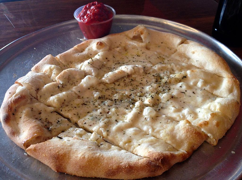Photo of Classic Slice Pizza  by RamblingVegans <br/>Soy Stix <br/> February 27, 2014  - <a href='/contact/abuse/image/18000/64928'>Report</a>