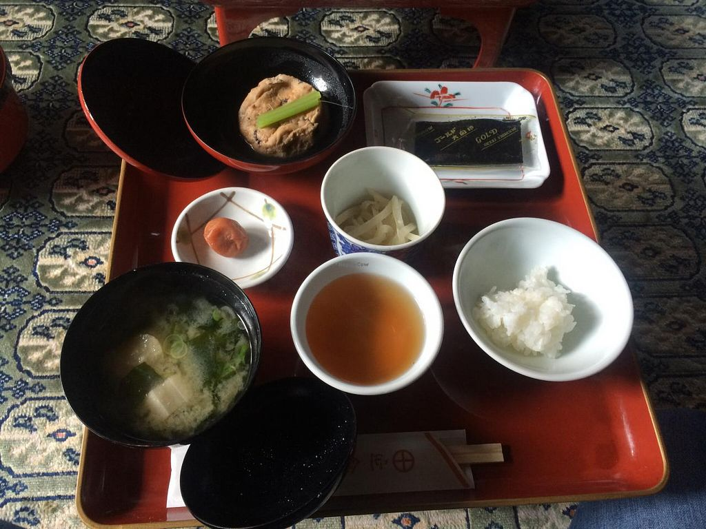 """Photo of Koyasan Temples  by <a href=""""/members/profile/Meggie%20and%20Ben"""">Meggie and Ben</a> <br/>Breakfast at Ekoin <br/> December 31, 2014  - <a href='/contact/abuse/image/18002/89133'>Report</a>"""