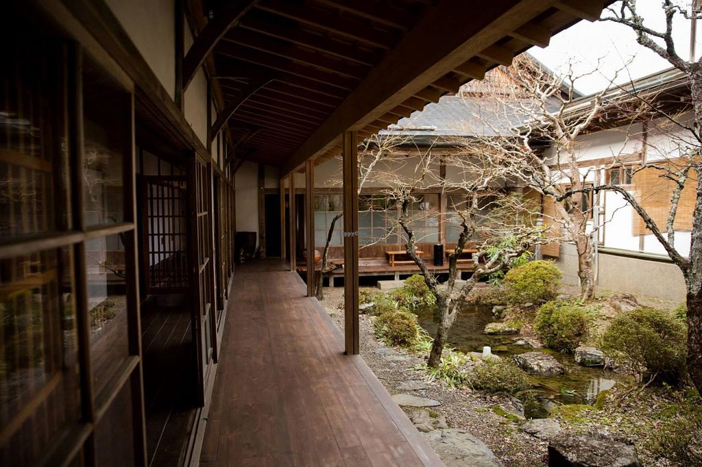 """Photo of Koyasan Temples  by <a href=""""/members/profile/Meggie%20and%20Ben"""">Meggie and Ben</a> <br/>Interior garden in Ekoin <br/> December 31, 2014  - <a href='/contact/abuse/image/18002/89135'>Report</a>"""