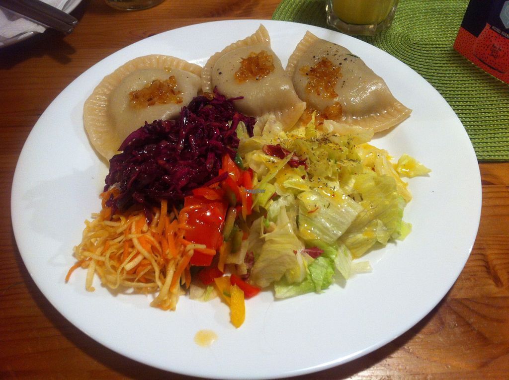 """Photo of Landia  by <a href=""""/members/profile/piffelina"""">piffelina</a> <br/>Pirogi with sauerkraut   <br/> August 2, 2016  - <a href='/contact/abuse/image/18004/164482'>Report</a>"""