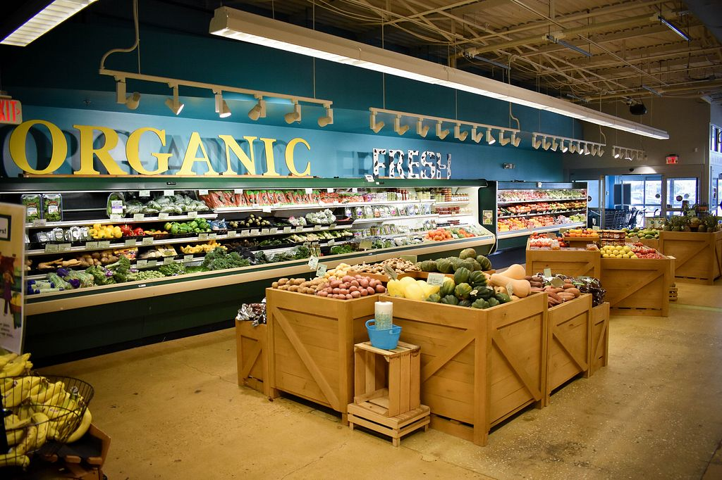 """Photo of Newark Natural Foods Co-op  by <a href=""""/members/profile/PatrickGalloway"""">PatrickGalloway</a> <br/>Certified Organic Produce <br/> May 15, 2018  - <a href='/contact/abuse/image/1801/400200'>Report</a>"""