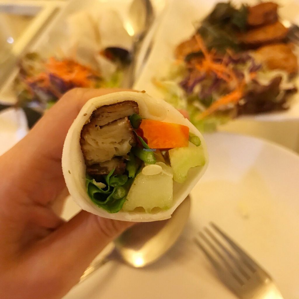 """Photo of Loving Hut - Bang Kholaem  by <a href=""""/members/profile/BCsin"""">BCsin</a> <br/>Delicious Peking Duck <br/> February 12, 2017  - <a href='/contact/abuse/image/18022/225771'>Report</a>"""