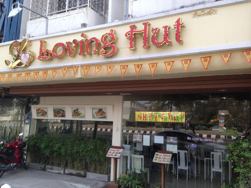 """Photo of Loving Hut - Bang Kholaem  by <a href=""""/members/profile/VeganBiker"""">VeganBiker</a> <br/>Located Right On the Main Road <br/> January 26, 2014  - <a href='/contact/abuse/image/18022/63149'>Report</a>"""