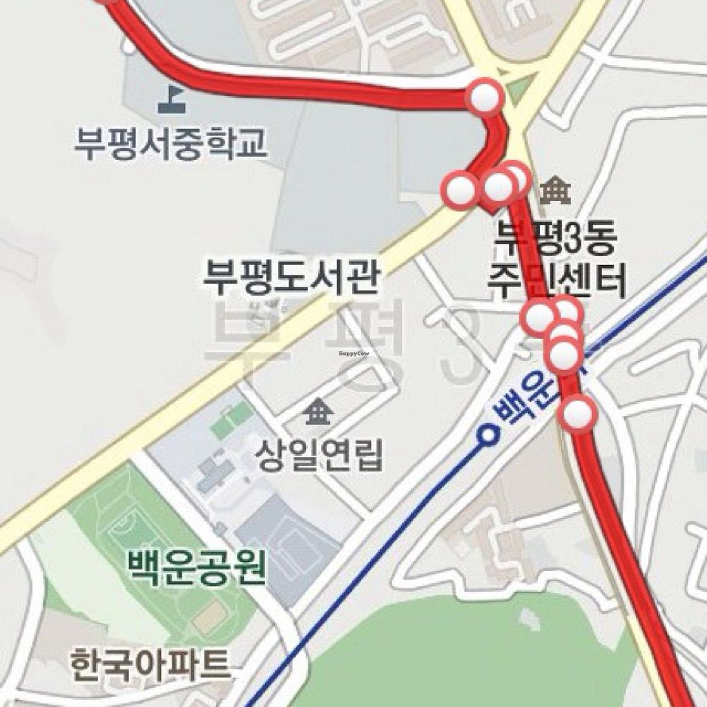 "Photo of REMOVED: Sandle Baram - Organic Wind  by <a href=""/members/profile/VeganBiker"">VeganBiker</a> <br/>Basic Directions from Exit 4 of BupyeongSamgeori Station <br/> December 27, 2013  - <a href='/contact/abuse/image/18034/60999'>Report</a>"