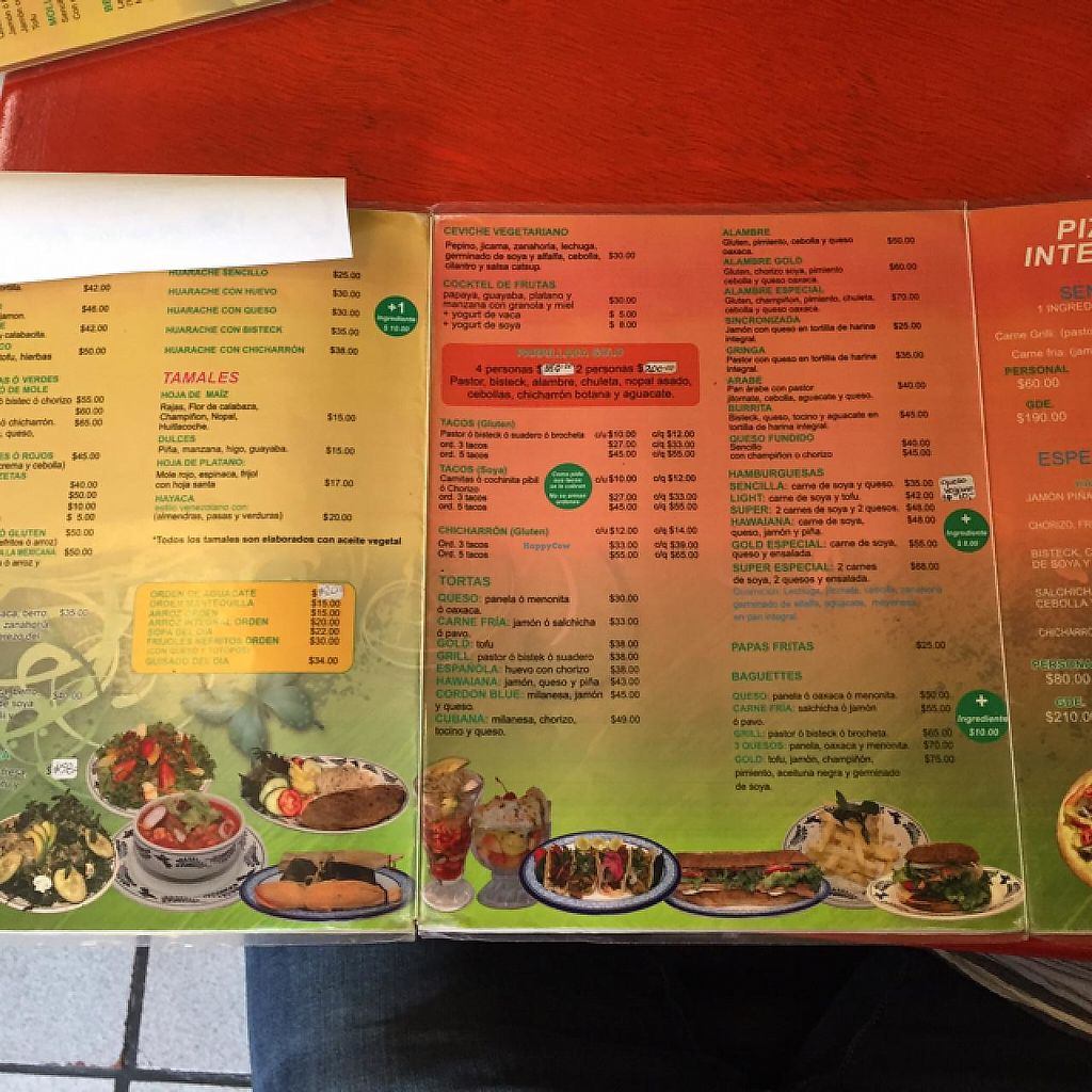 """Photo of Gold Taco  by <a href=""""/members/profile/RexyUK"""">RexyUK</a> <br/>menu  <br/> July 19, 2015  - <a href='/contact/abuse/image/18055/399886'>Report</a>"""
