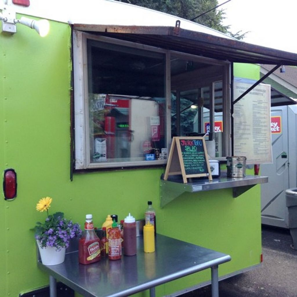 "Photo of CLOSED: Homegrown Smoker Vegan Barbecue - Food Cart  by <a href=""/members/profile/Julie%20R"">Julie R</a> <br/>Cute food cart! <br/> August 19, 2015  - <a href='/contact/abuse/image/18080/114234'>Report</a>"