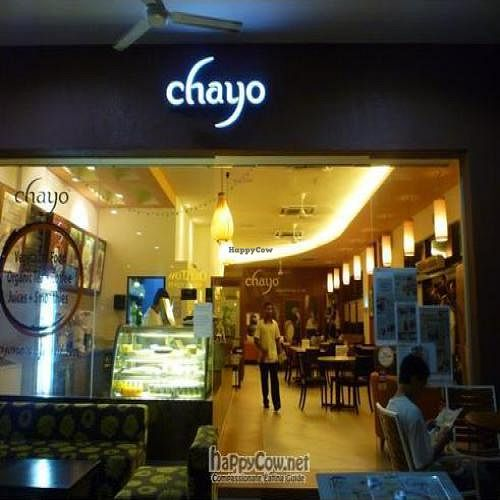 "Photo of Chayo Cafe  by <a href=""/members/profile/CovertOps78"">CovertOps78</a> <br/>Sensible lighting, comfortable seating, reasonably-sized tables and interesting decor makes Chayo a winner in the ambience department <br/> January 28, 2010  - <a href='/contact/abuse/image/18081/3510'>Report</a>"