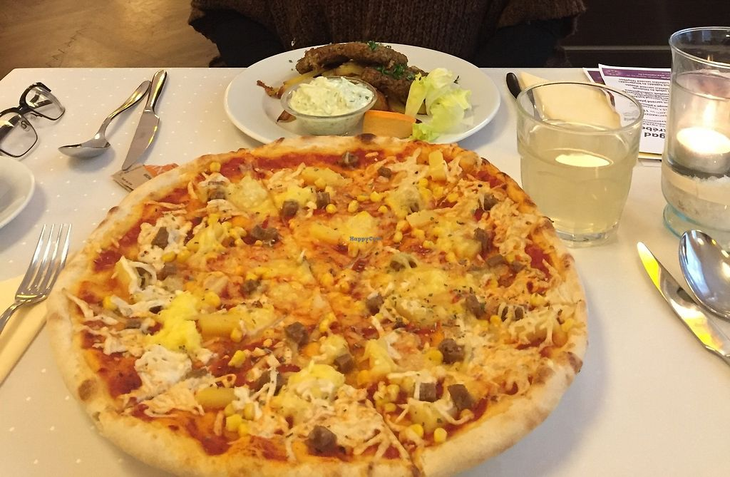 """Photo of Napfenyes Restaurant and Pastry Shop  by <a href=""""/members/profile/willowgrace95"""">willowgrace95</a> <br/>Pizzas are huge! <br/> April 3, 2018  - <a href='/contact/abuse/image/18107/380394'>Report</a>"""