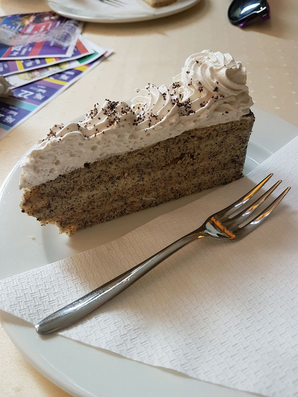 """Photo of Napfenyes Restaurant and Pastry Shop  by <a href=""""/members/profile/LauraBanana"""">LauraBanana</a> <br/>poppyseed cake!  <br/> April 28, 2018  - <a href='/contact/abuse/image/18107/392053'>Report</a>"""
