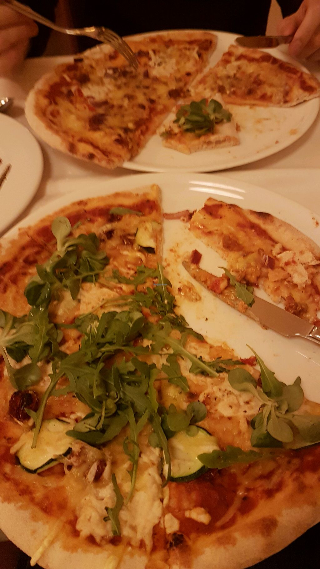 """Photo of Napfenyes Restaurant and Pastry Shop  by <a href=""""/members/profile/LauraBanana"""">LauraBanana</a> <br/>Mediterranean and Hungarian pizzas!!! <br/> April 28, 2018  - <a href='/contact/abuse/image/18107/392057'>Report</a>"""