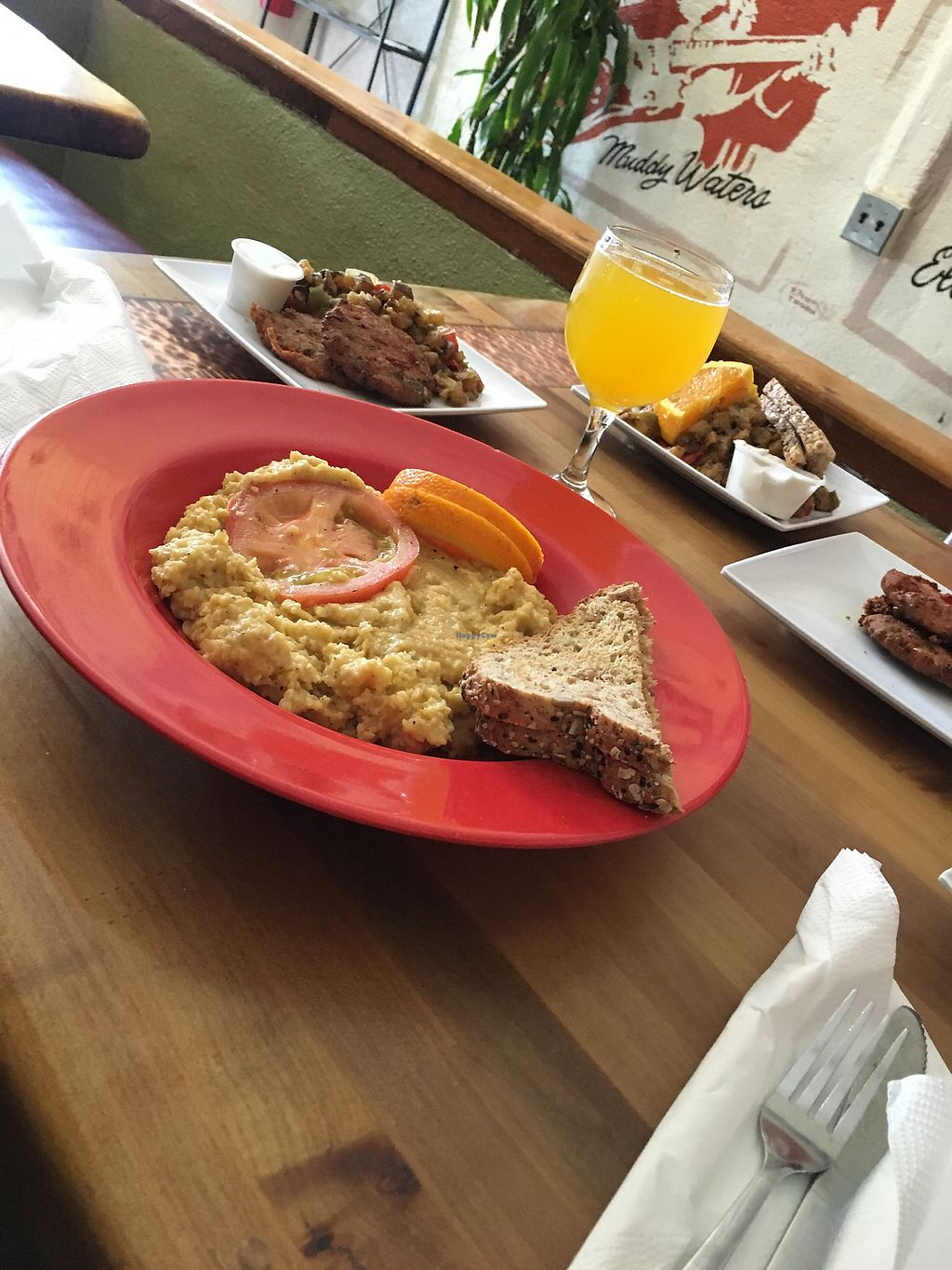 """Photo of Souley Vegan  by <a href=""""/members/profile/tylerhebron"""">tylerhebron</a> <br/>Cheese Grits, House made Sausage, and Potatoes  <br/> August 8, 2017  - <a href='/contact/abuse/image/18109/290619'>Report</a>"""