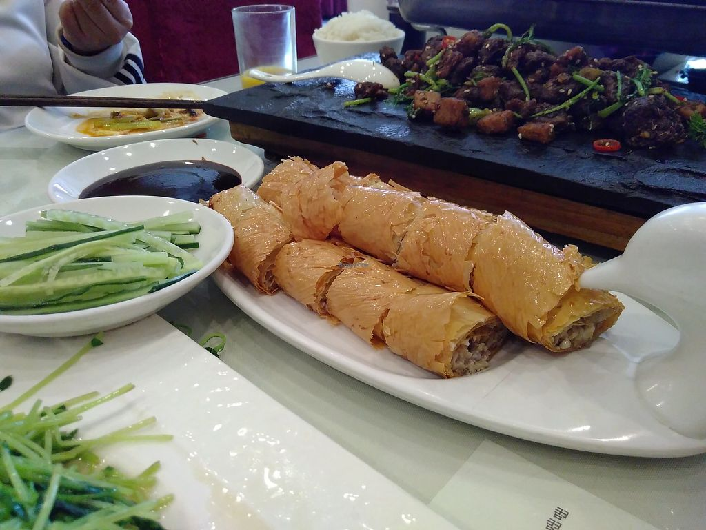 "Photo of Jing Lian Zhai - Xizhimen  by <a href=""/members/profile/mcld"">mcld</a> <br/>Roast notduck and pancakes <br/> October 21, 2017  - <a href='/contact/abuse/image/18156/317281'>Report</a>"